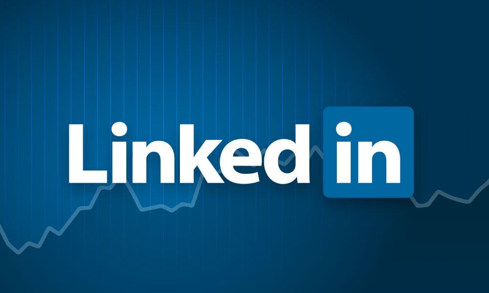 Logotipo do Linkedin - representando seu consumo da rede