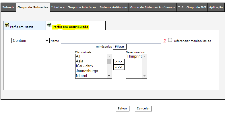Parte 2 del formulario del perfil en distribución